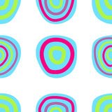 Retro seamless pattern. Vector illustration Royalty Free Stock Photography