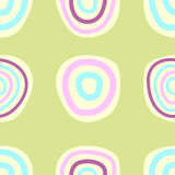 Retro seamless pattern. Vector illustration Royalty Free Stock Photo