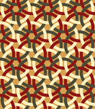 Retro seamless pattern. Royalty Free Stock Photo