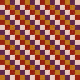 Retro seamless pattern. Royalty Free Stock Photography
