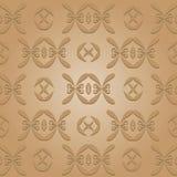 Retro Seamless Pattern. Elegant vintage pattern background Stock Images