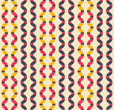 Retro seamless pattern. Stock Photos