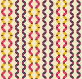 Retro seamless pattern. Stock Photos