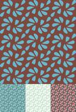 Retro seamless pattern  Stock Photography