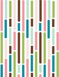 Retro seamless pattern. With colored stripes Royalty Free Stock Photo