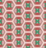 Retro seamless pattern Stock Photo