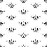 Retro seamless pattern. Stock Images