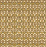 Retro seamless pattern, Brown yellow cream green background. Fabric seamless pattern, Print, Texture for web Royalty Free Illustration