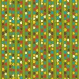 Retro seamless pattern Stock Image