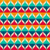 Retro seamless pattern. (eps 10 Royalty Free Stock Image