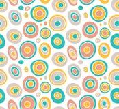 Retro seamless pattern geometric background Stock Photos
