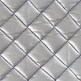 Retro Seamless pattern of geometric shapes. Leather metallic col. The surface of the leather texture close-up Stock Photo