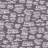 Retro seamless pattern with inscriptions about love for wedding invitation, paper, fabric and other printing, web projects. Royalty Free Stock Photos
