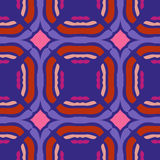 Retro seamless pattern. Vector background Stock Photography