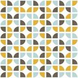 Retro seamless pattern. Mid-century modern style. vector illustration