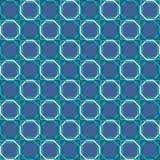 Retro seamless pattern muslim mosaic tile decoration Stock Image