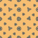 Retro seamless pattern. Simple flat texture design in vintage style. Abstract geometric structure background. Retro seamless pattern. Simple texture design in Royalty Free Stock Photo