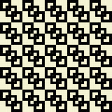 Retro seamless pattern with squares shapes. Royalty Free Stock Photos