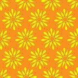 Retro  seamless pattern with suns. Retro seamless patterns set. Stock Photos