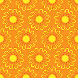 Retro  seamless pattern with suns. Retro seamless patterns set. Royalty Free Stock Images