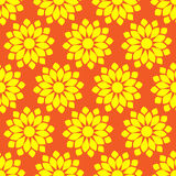 Retro  seamless pattern with suns. Retro seamless patterns set. Stock Images
