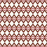 Retro seamless pattern with triangle, rhombus Royalty Free Stock Image