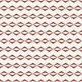 Retro seamless pattern with triangle, rhombus Royalty Free Stock Photos