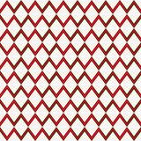 Retro seamless pattern with triangle, rhombus Stock Photos