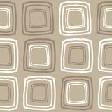 Retro seamless pattern in vector Royalty Free Stock Image