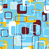 Retro seamless pattern, vector stock illustration