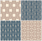 Retro seamless patterns. Royalty Free Stock Photography