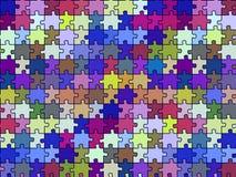 Retro seamless puzzle texture stock photography