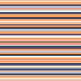 Retro seamless stripe pattern vintage colors vector  Stock Images