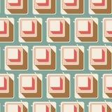 Retro seamless tile pattern background Stock Photo