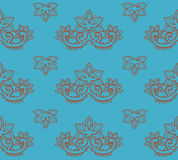 Retro seamless vector pattern Stock Image