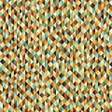 Retro seamless vector triangle pattern stock illustration