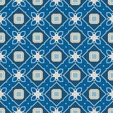 Retro Seamless Vector Wallpaper Stock Photo