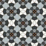 Retro Seamless Vector Wallpaper. Vector Seamless Wallpaper. Vintage Pattern. Retro Grey Brown Background Stock Photography