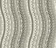 Retro seamless wallpaper Royalty Free Stock Photography