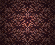 Retro seamless wallpaper Royalty Free Stock Images