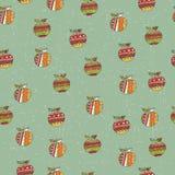 Retro seamless wallpaper Royalty Free Stock Photo