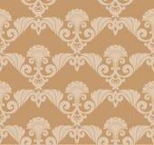 retro seamless wallpaper royaltyfri illustrationer