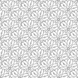 Retro seamless wallpaper background black white curve spiral out Stock Photography