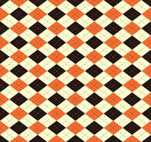Retro seamless wallpaper background check diamond geometry Scotl. And cross dot line can be used for both print and web page Royalty Free Stock Photos