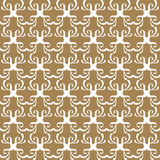 Retro seamless wallpaper background curve geometry cross kaleido. Scope can be used for both print and web page Royalty Free Stock Photo