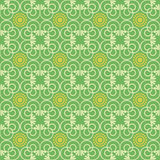 Retro seamless wallpaper background round curve spiral cross vin Royalty Free Stock Photography