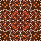 Retro seamless wallpaper background spiral curve cross vine flow. Er kaleidoscope can be used for both print and web page Royalty Free Stock Images