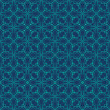 Retro seamless wallpaper background spiral curve cross vine fram. E kaleidoscope can be used for both print and web page Royalty Free Stock Image