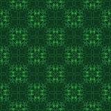 Retro seamless wallpaper background vintage green spiral cross k Stock Image