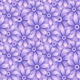 Retro seamless wallpaper background vintage purple blue round da. Isy garden flower can be used for both print and web page Royalty Free Stock Photos